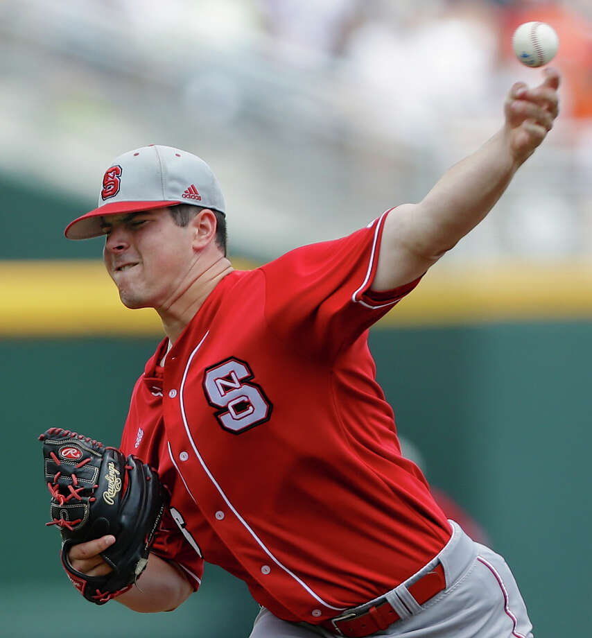North Carolina State lefthander Carlos Rodon stands 6-3 and is the type of hard thrower teams covet. Photo: Nati Harnik, STF / AP