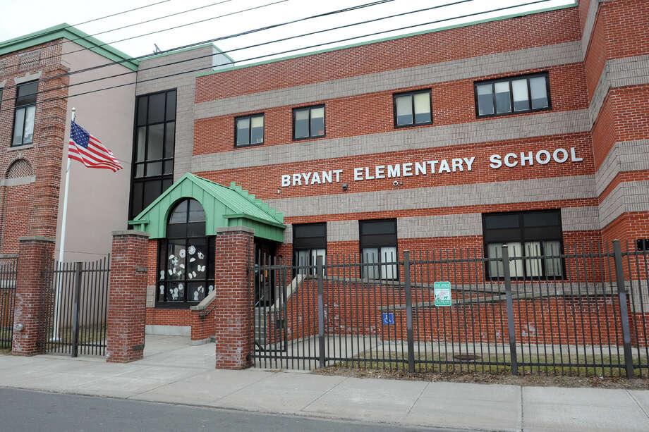 Bryant School, 230 Poplar St. in Bridgeport, Conn. Jan. 20. 2014. Photo: Ned Gerard / Connecticut Post