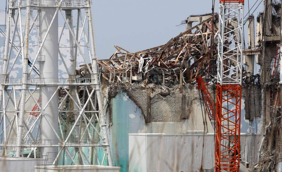 This file picture taken on May 26, 2012 shows the unit 3 reactor building of the Tokyo Electric Power Co.'s (Tepco) Fukushima Dai-Ichi nuclear power plant in Okuma in Fukushima prefecture, northern Japan.  (TOMOHIRO OHSUMI/AFP/Getty Images) Photo: AFP, AFP/Getty Images