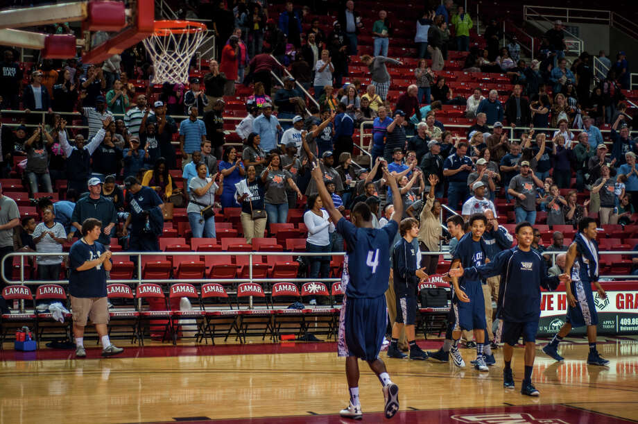 The West Orange-Stark Mustangs were victorious in a matchup against the Cleveland Indians Tuesday night at the Montagne Center. Photo provided by Michael Reed Photo: Michael Reed / Michael Reed