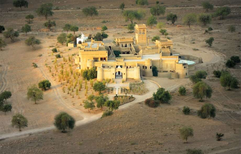 Most Extraordinary Places to Stay 1. Mihir Gahr (Rajasthan, India)   It took 150 masons, artisans and craftsmen two years to build what the owners describe as 'a dream realized.' — Lonely Planet Photo: James Kay , Lonely Planet