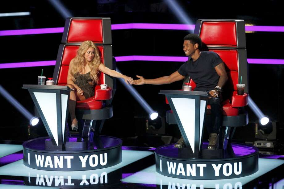"THE VOICE -- ""Blind Auditions"" --  Shakira, Usher both wanted S.A. teen. Photo: NBC, Trae Patton/NBC"