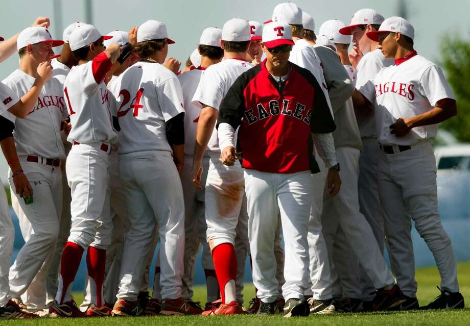 Craig Biggio coached St. Thomas HS to four consecutive TAPPS 5A state tournaments and consecutive titles with Conor and Cavan in 2010-11. Photo: Cody Duty, Houston Chronicle