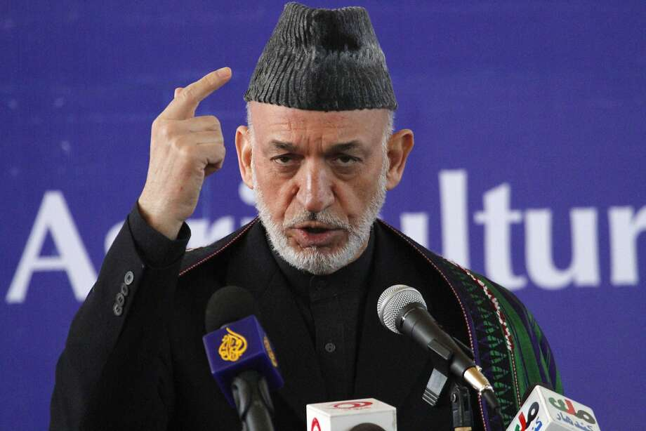 Afghan President Hamid Karzai Photo: Allauddin Khan, Associated Press