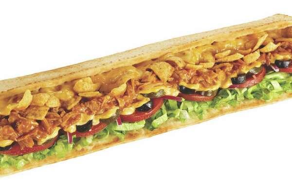 Fritos give Subway's Enchilada Melt