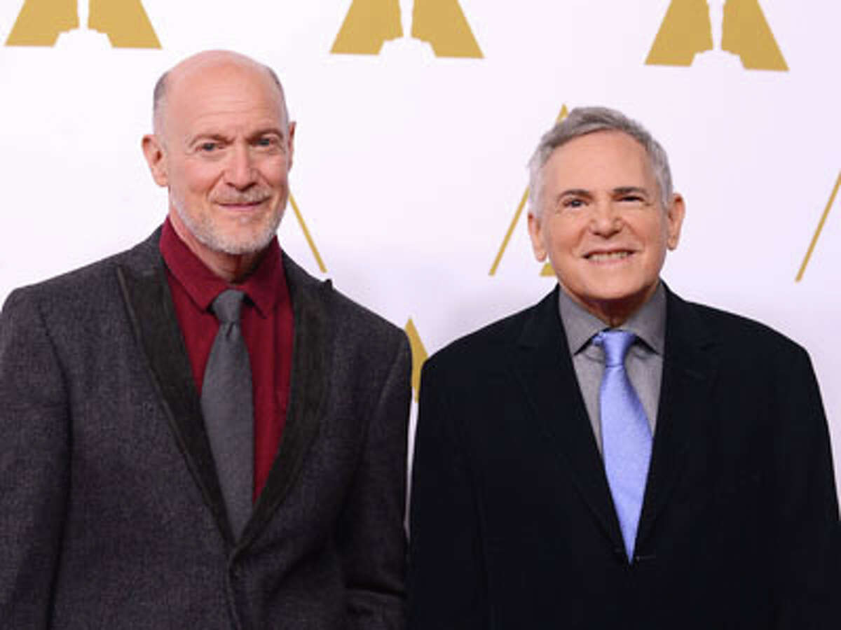 Neil Meron and Craig Zadan arrives at the 86th Oscars Nominees Luncheon, on Monday, Feb. 10, 2014 in Beverly Hills, Calif.