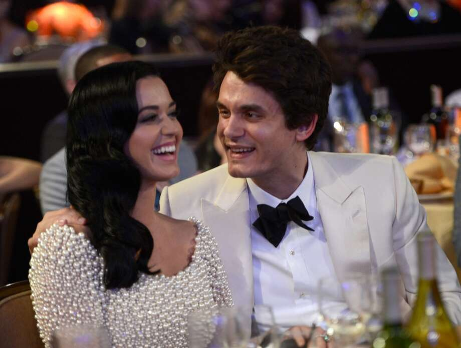 LOS ANGELES, CA - FEBRUARY 09:  Katy Perry and John Mayer attend the 55th Annual GRAMMY Awards Pre-GRAMMY Gala and Salute to Industry Icons honoring L.A. Reid held at The Beverly Hilton on February 9, 2013 in Los Angeles, California.  (Photo by Kevin Mazur/WireImage) Photo: WireImage