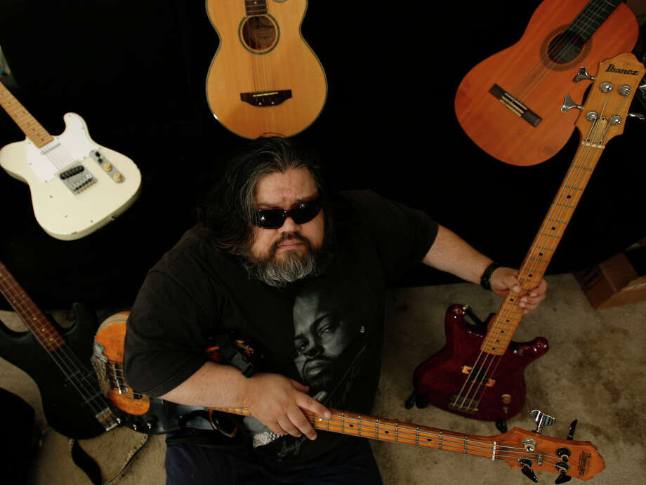 Bassist Rozzano Zamorano died last week at 44. Photo: Julio Cortez, Staff / Houston Chronicle