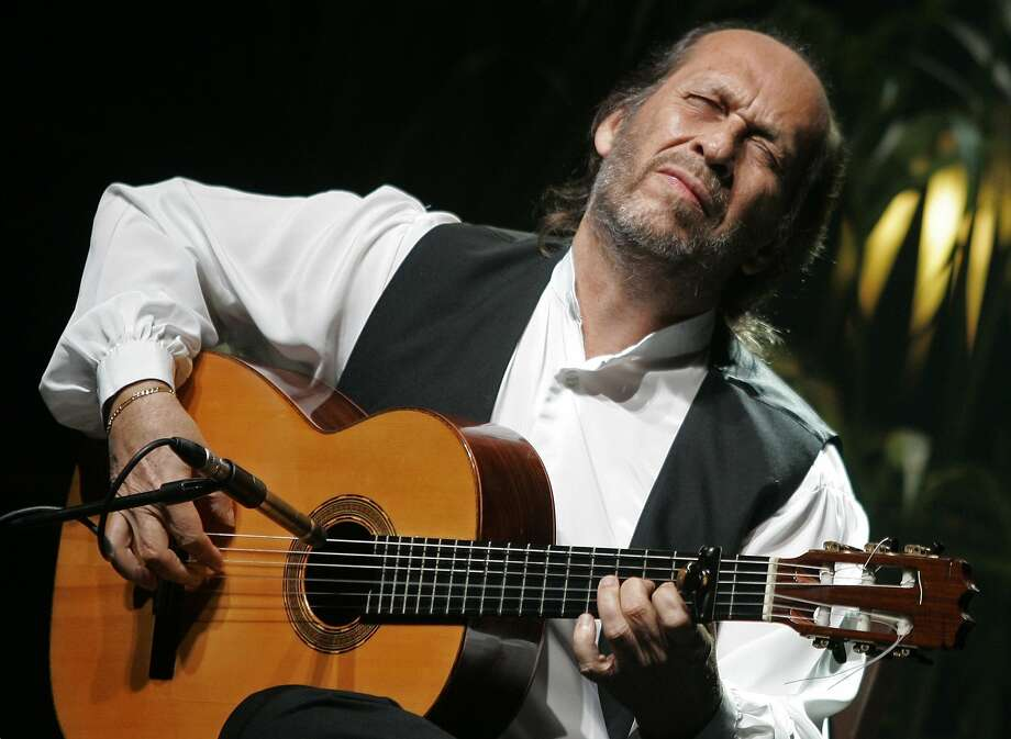 Paco de Lucia, one of Spain's most influential musicians, fused traditional flamenco with other musical forms such as jazz, bossa nova and salsa. Photo: Dani Cardona, Reuters