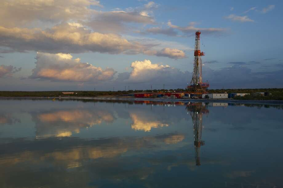 January 2013: Apache Corp. announced it was set to become the first company to power an entire hydraulic fracturing job with engines running on natural gas, cutting fuel costs by about 40 percent.  [Photo: Apache Permian Basin assets.] Photo: Gaylon Wampler