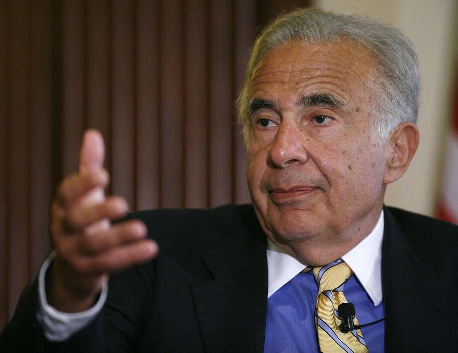 Carl Icahn says eBay's board is riddled with conflicts. Photo: Chip East, Reuters