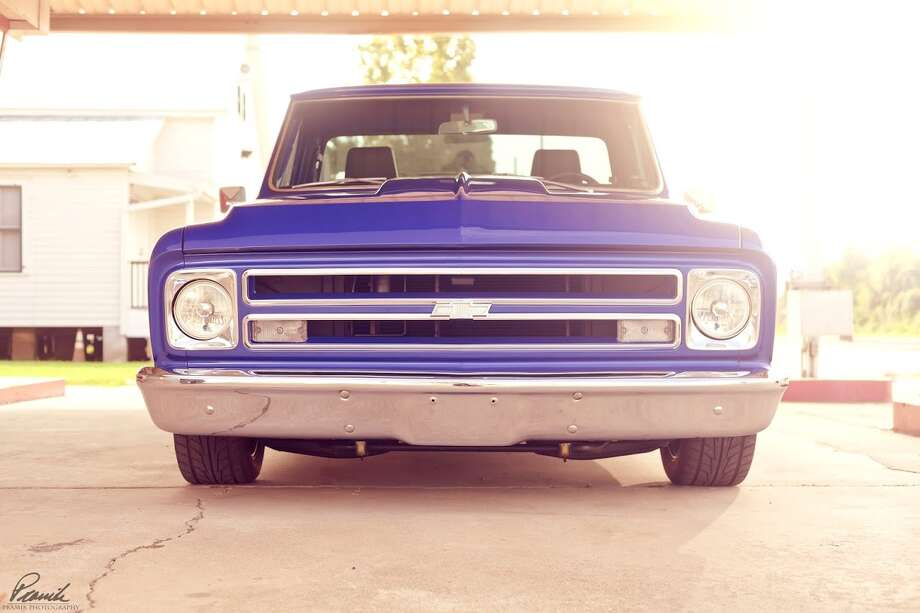 This 1967 Chevy pickup is Donnie Archibald's second venture into owning a classic ride.