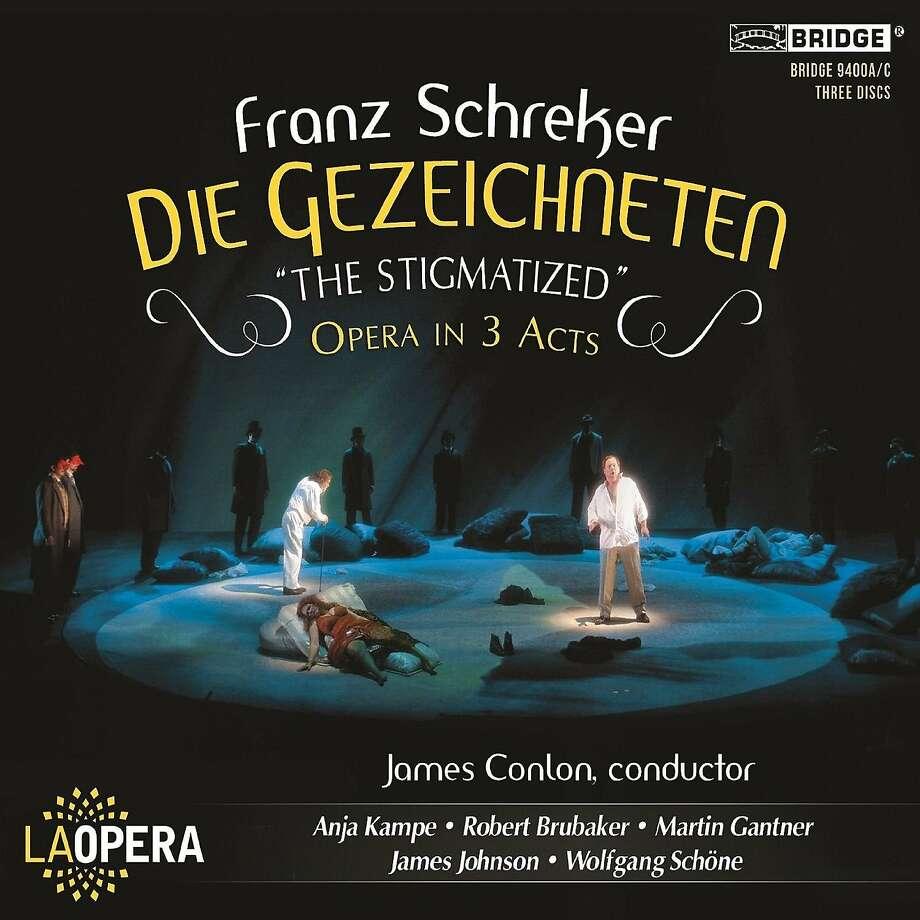 """cd cover: Franz Schreker's """"Die Gezeichneten"""" Photo: Bridge Records"""