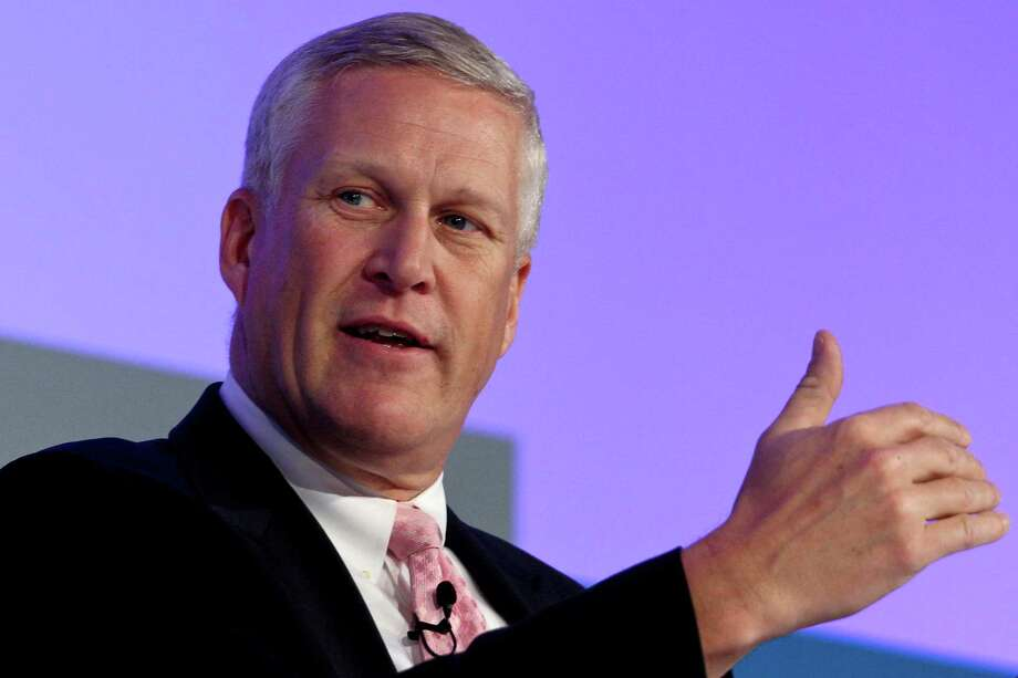 Louis Chenevert, the CEO of United Technologies Corp., is betting on a high-tech new jet engine to help his company grow. Gov. Dan Malloy made cultivating a relationship with Chenevert a top priority. Photo: Jonathan Alcorn/Bloomberg / Connecticut Post Contributed© 2011 Bloomberg Finance LP