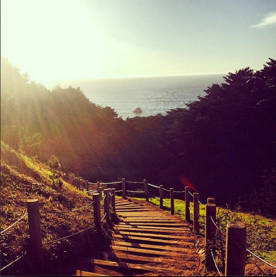 """Land's End never disappoints."" as evidenced by this photo by Talia G., or @taliagoodwin on Instagram,"