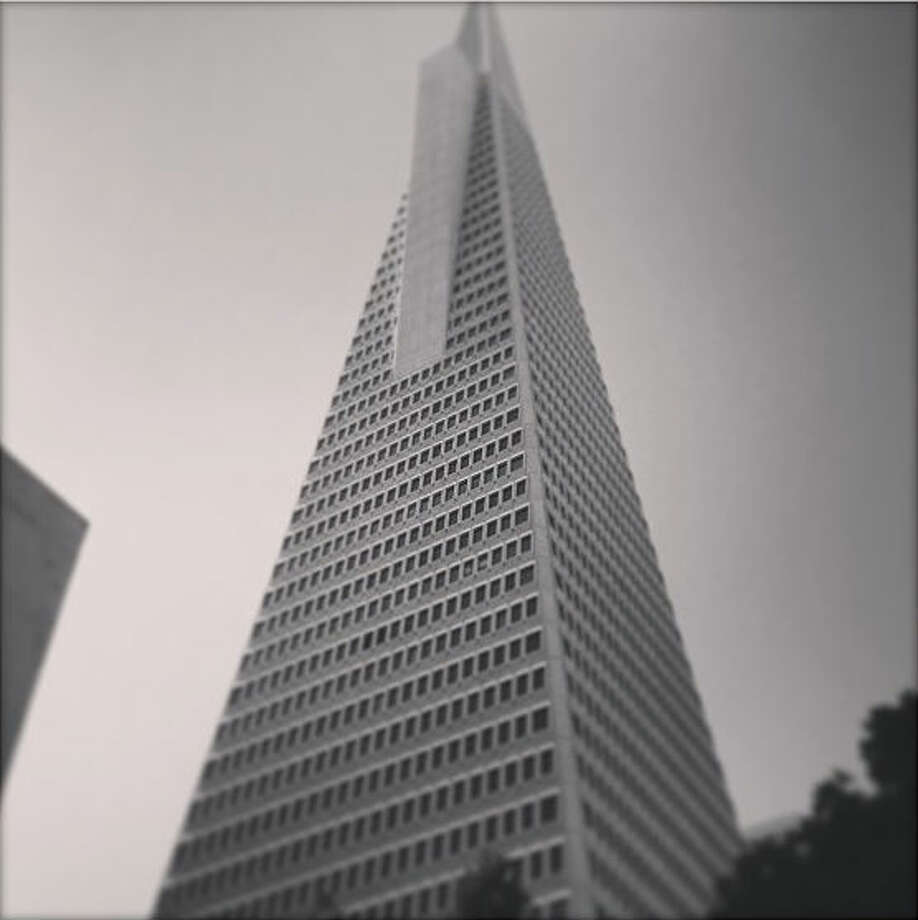 As one of the most iconic buildings in San Francisco, the Transamerica Pyramid is hard to miss. Kevin M., @martinkz, took this black-and-white photo of the skyscraper during a Saturday walk in the Financial District.