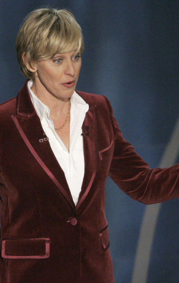Oscar host Ellen DeGeneres (seen above in her stint in 2007) returns this year. Photo: Mark J. Terrill / Associated Press / AP