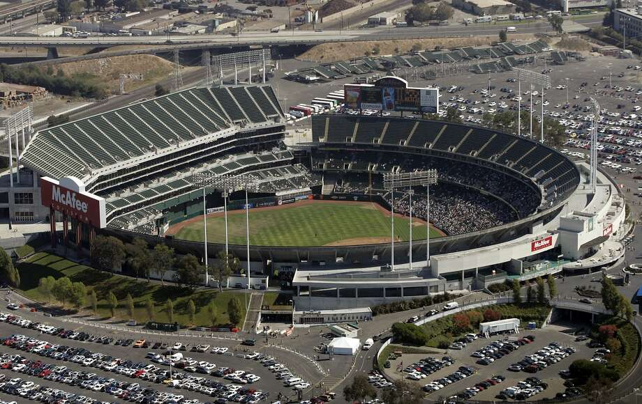 The Oakland A's want their ballpark, O.co Coliseum, to be renovated or they want a new place to play. Photo: Kat Wade, The Chronicle