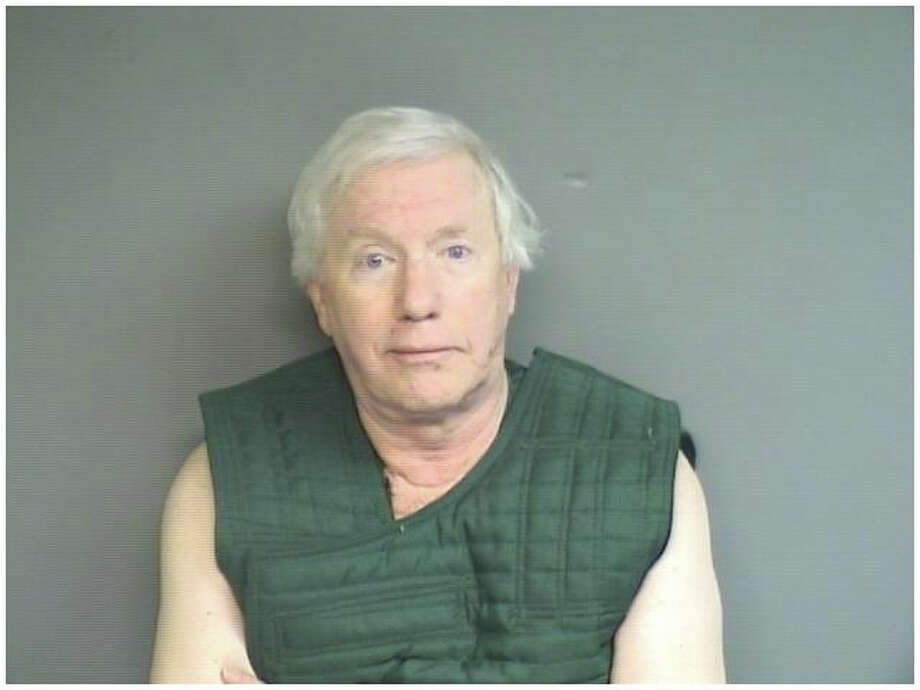 Michael Luecke, 72, is charged with public indecency, breach of peace and risk of injury to a minor after he was allegedly found masturbating in the hallway at Westhill High School where he was serving as a substitute teacher. Photo: Contributed Photo / Stamford Advocate Contributed