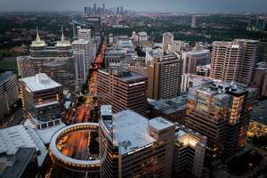 The Texas Medical Center photographed on Thursday, May 23, 2013, in Houston. Texas Children's Hospital is in the foreground.  ( Smiley N. Pool / Houston Chronicle )