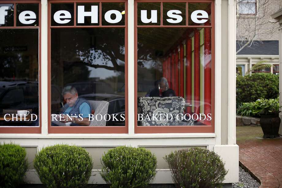 Bookworks in Pacific Grove, with new owners, has gone back to its original name and mission, and has added a book group. Photo: Sarah Rice, Special To The Chronicle