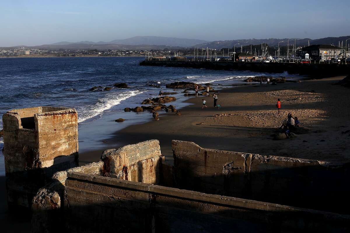 The Monterey Peninsula is full of scenic public beaches, including the San Carlos Beach Park in Monterey, Calif., shown on Wednesday, February 19, 2014.