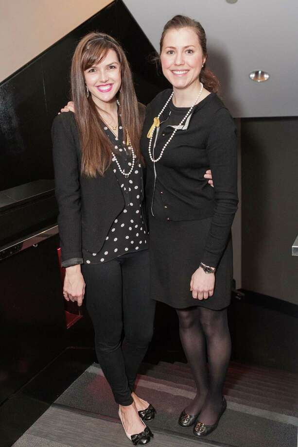 Felicia Beene and Kelly Lovlien at the Junior League of San Francisco's Fashion Show Launch Party on February 20, 2014. Photo: Drew Altizer Photography/SFWIRE, Drew Altizer Photography / ©2014 by Drew Altizer, all rights reserved