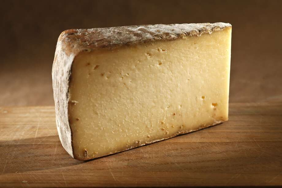 Valley Ford Cheese Co.'s tart and tangy Highway One is like a cross between a Caerphilly and an Italian Asiago. Photo: Craig Lee, Special To The Chronicle