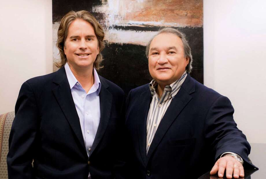 Edward C. Snyder III of Castillo Snyder PC (left) and Edward F. Valdespino of Strasburger & Price LLP. Their firms are co-lead counsel for the investors. Photo: Al Rendon / Courtesy Photo / COURTESY OF THE LAW FIRMS