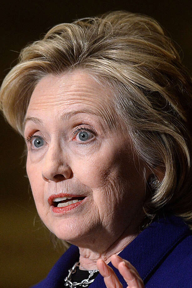 Interest in former Secretary of State Hillary Clinton exceeds that of any other hopeful. / Abaca Press