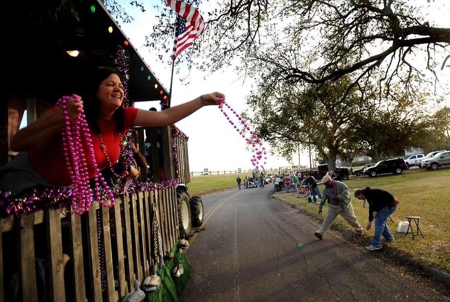 The Courir parade kicks off Mardi Gras in Port Arthur, Thursday. Tammy McKinley/The Enterprise