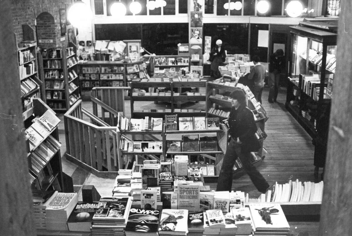 For more than 30 years, the store was a big part of Pioneer Square and a reason to go to the neighborhood. Photo: Mar. 2, 1980, Grant Haller, copyright MOHAI, Seattle Post-Intelligencer collection, 2000.107_print_restaurants_057.