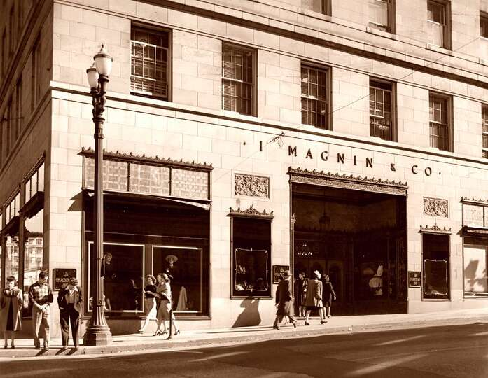 I Magnin closed in 1993 in downtown Seattle The luxury Photo
