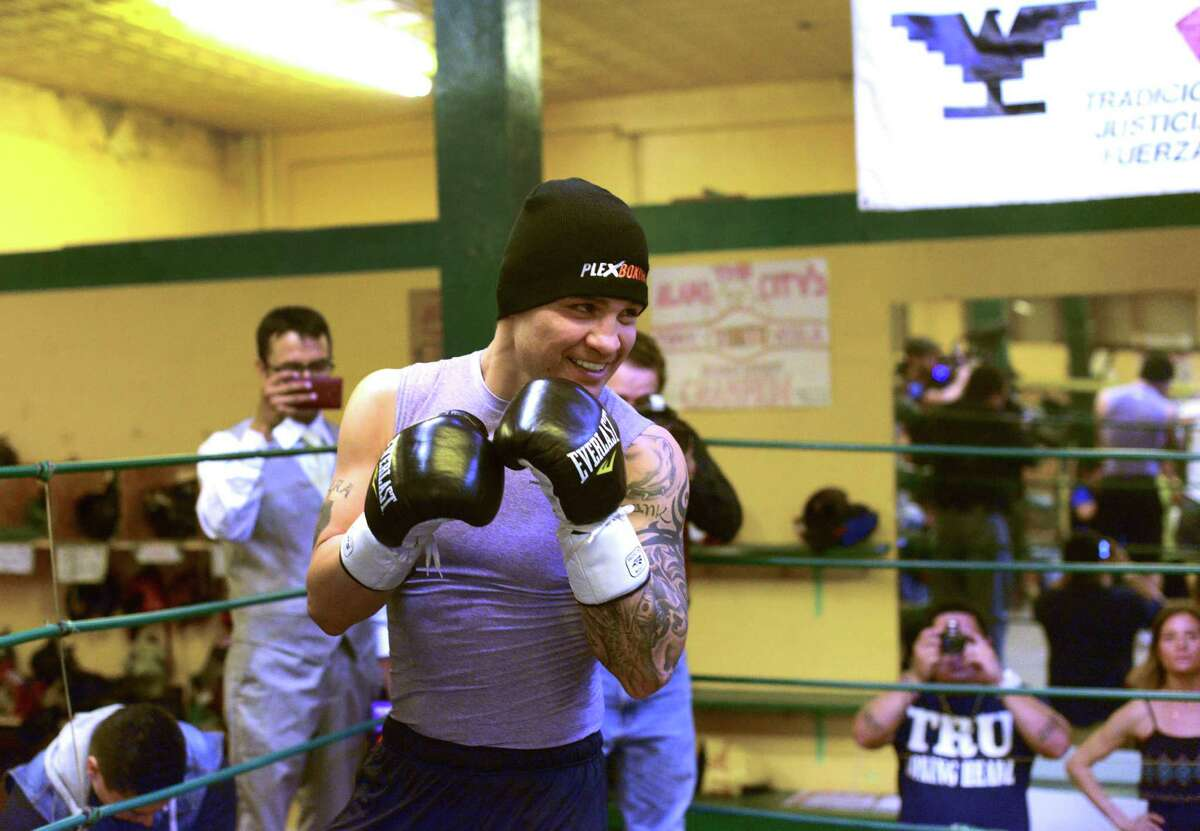 Journeyman fighter Bryan Vera has trained hard for a chance to make a national name for himself in the super-middleweight rematch against César Chávez Jr. on Saturday at the Alamodome. Read the story by John Whisler on ExpressNews.com