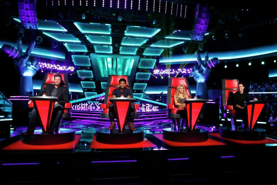 "THE VOICE -- ""Blind Auditions"" -- Pictured: (l-r) Blake Shelton, Usher, Shakira, Adam Levine -- (Photo by: Trae Patton/NBC) Photo: NBC, Trae Patton/NBC / 2013 NBCUniversal Media, LLC"
