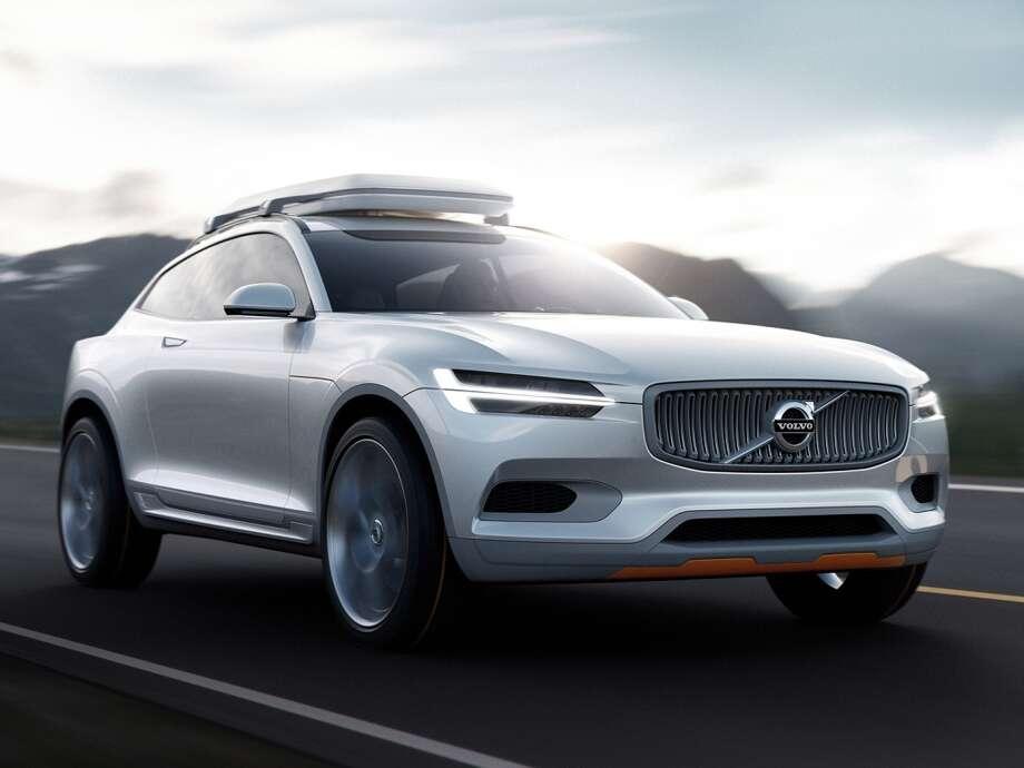 Volvo's 2014 Concept XC Coupe.