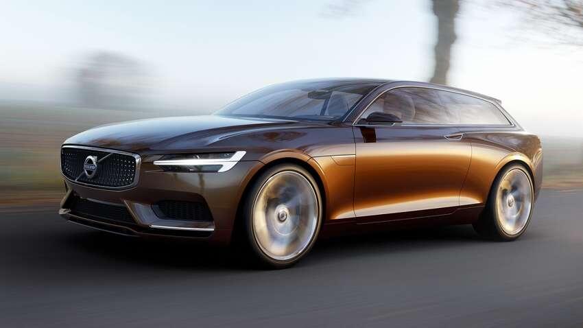 Volvo's new 2014 Concept Estate Coupe.