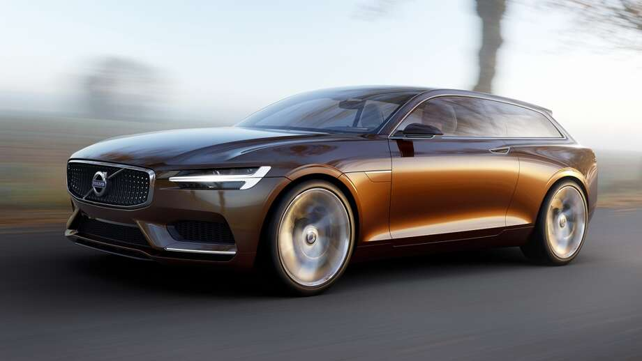 Volvo's new 2014 Concept Estate Coupe.
