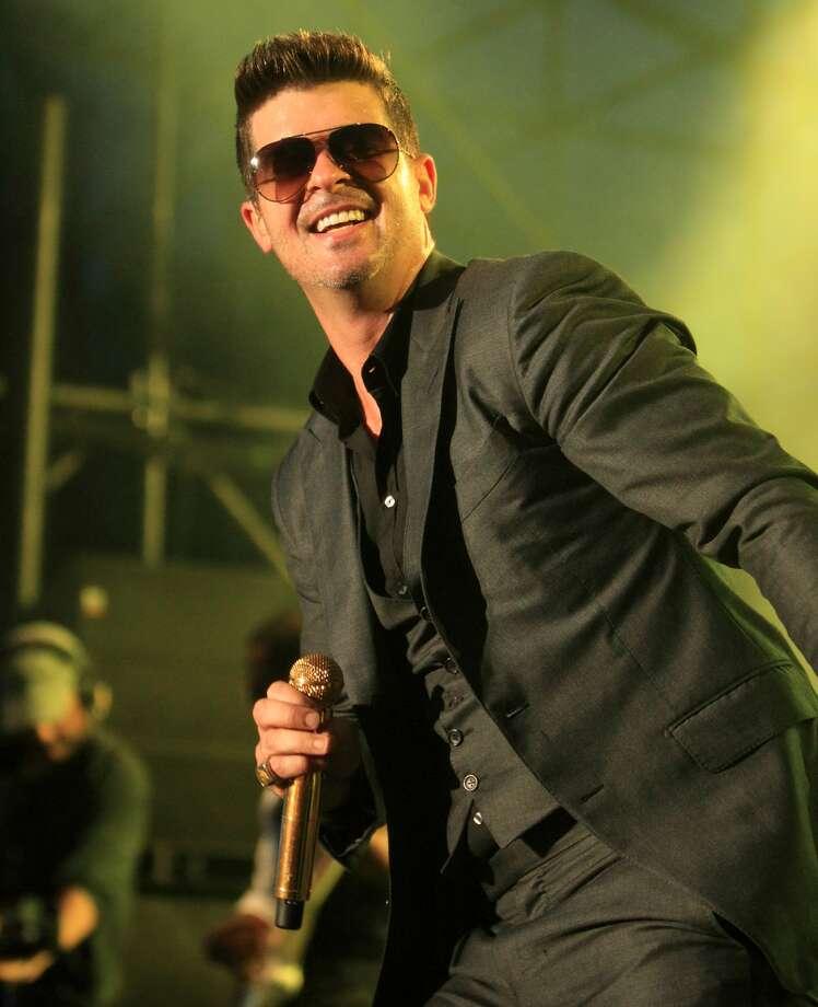Robin Thicke - Sunglasses.