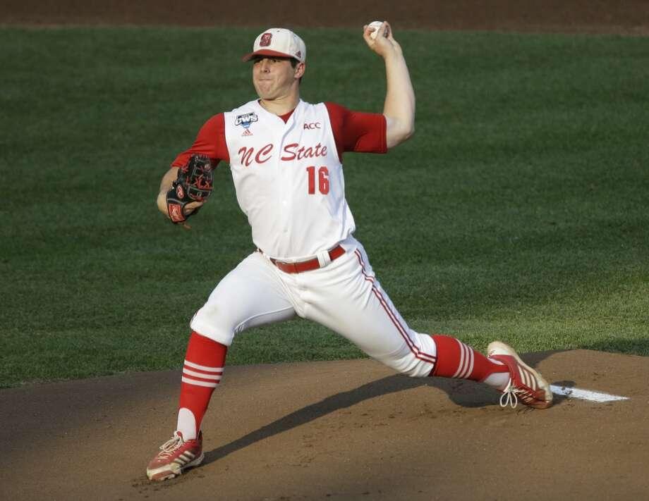 Carlos Rodon Pitcher North Carolina State Photo: Nati Harnik, Associated Press
