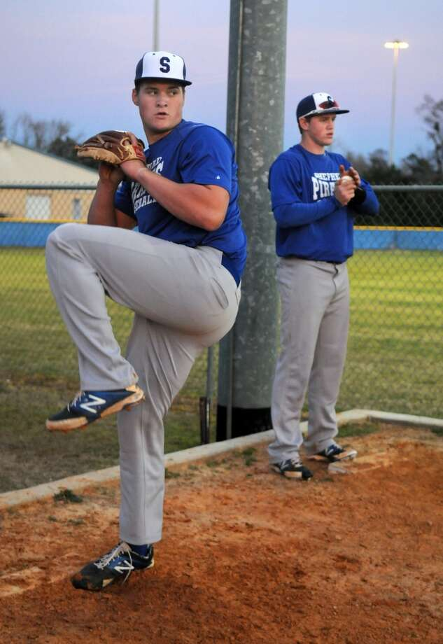 Tyler Kolek Pitcher Shepherd High School Photo: Jerry Baker, For The Chronicle
