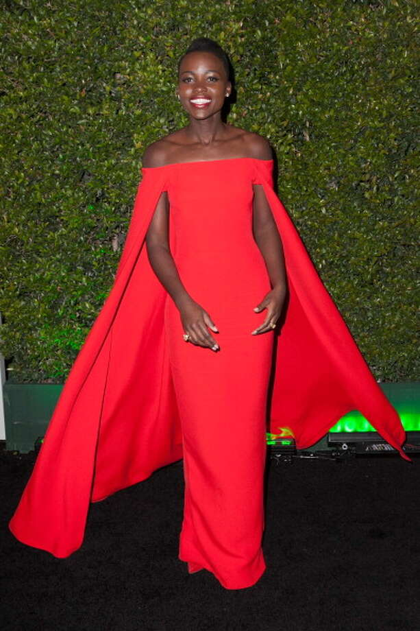 BEVERLY HILLS, CA - JANUARY 12:  Lupita Nyong'o arrives for Fox And FX's 2014 Golden Globe Awards Party - Arrivals on January 12, 2014 in Beverly Hills, California.  (Photo by Gabriel Olsen/Getty Images) Photo: Gabriel Olsen, Getty Images / 2014 Getty Images