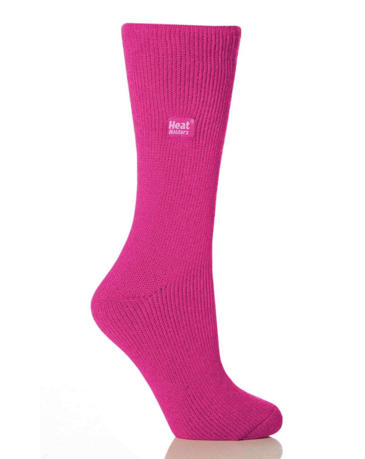 Heat Holders are thermal socks designed to hold warm air close to the wearer's feet, keeping the feet warmer than standard thermal socks.
