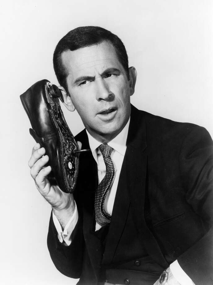 "Don Adams' shoe phone from ""Get Smart."" Photo: Michael Ochs Archives"