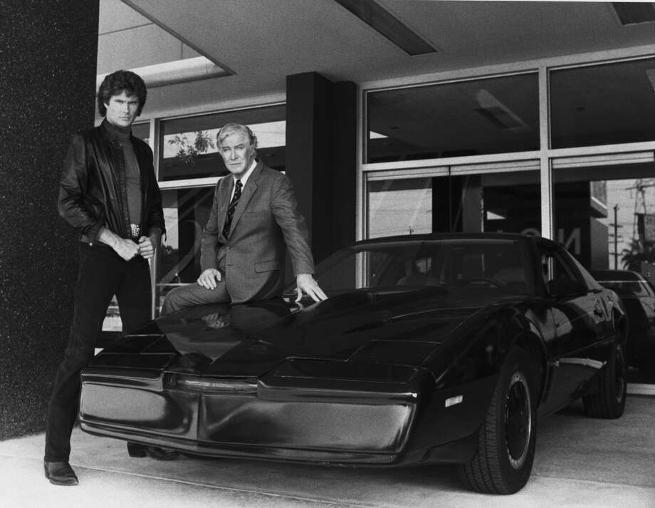 "Hasselhoff's talking car from ""Knight Rider."" Photo: NBC, NBC Via Getty Images"