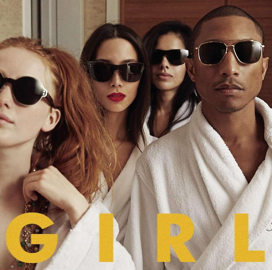 "cd cover ""G I R L"" by Pharrell Williams Photo: Columbia, Amazon.com"