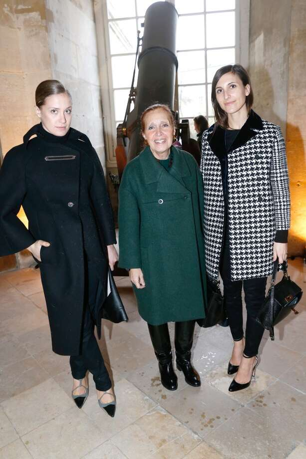 Writer Danielle Steel and her daughters attend the Balenciaga show as part of the Paris Fashion Week Womenswear Fall/Winter 2014-2015. Held at Observatoire de Paris on February 27, 2014 in Paris, France. Photo: Bertrand Rindoff Petroff, Getty Images