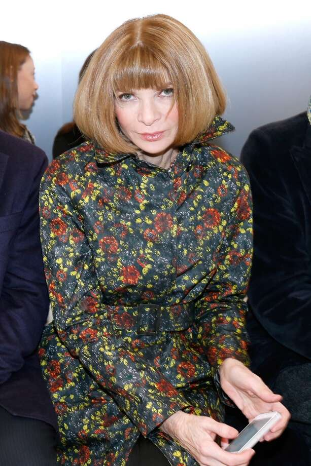 Anna Wintour attends the Balenciaga show as part of the Paris Fashion Week Womenswear Fall/Winter 2014-2015. Held at Observatoire de Paris on February 27, 2014 in Paris, France. Photo: Bertrand Rindoff Petroff, Getty Images