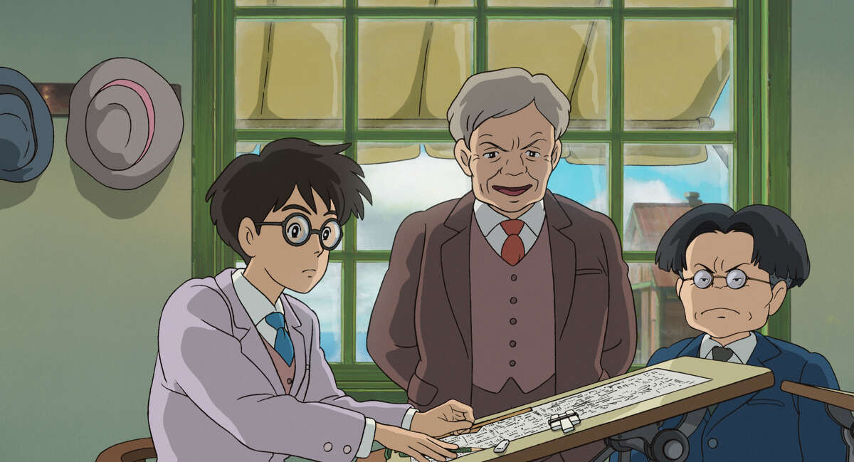 """This image released by Touchstone Pictures shows a scene from the animated film, """"The Wind Rises."""" (AP Photo/Touchstone Pictures - Studio Ghibli)"""