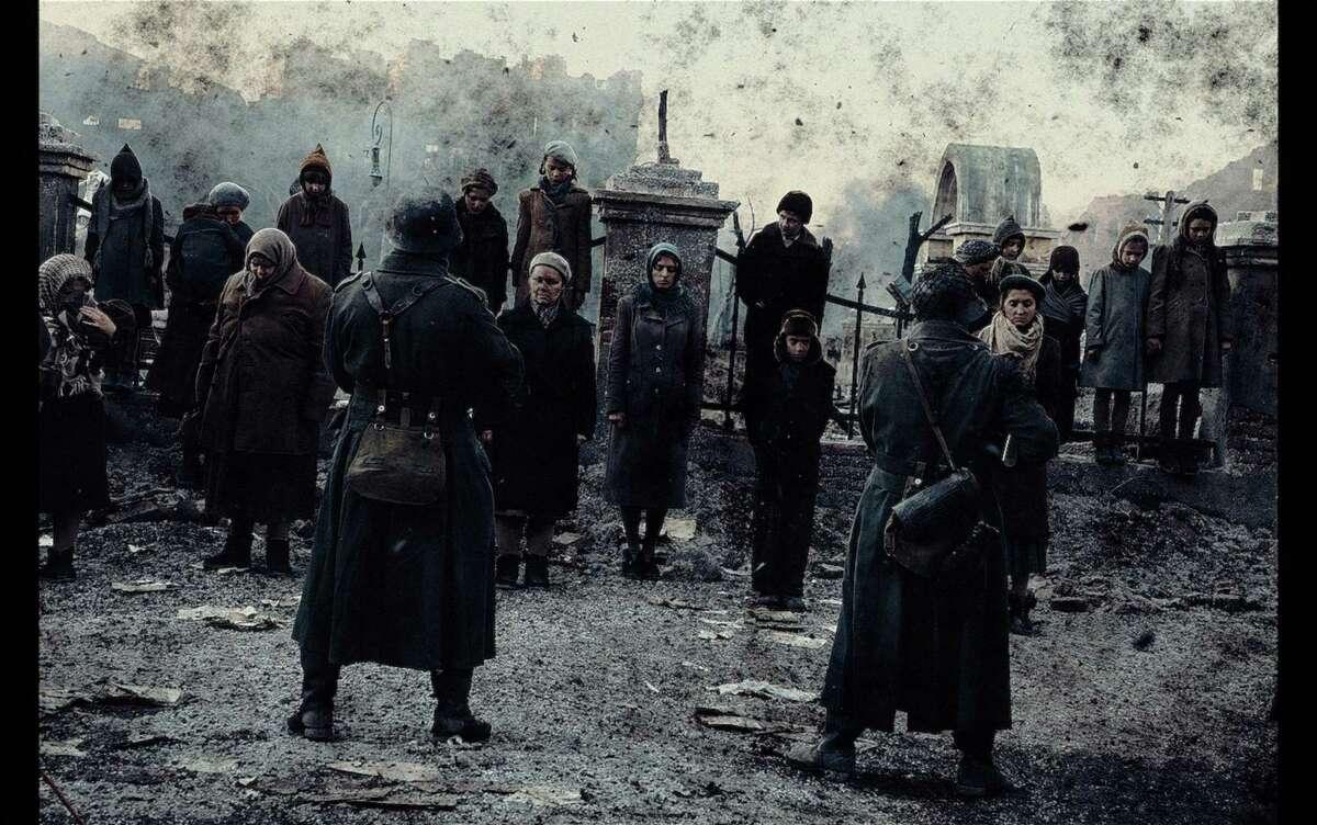 """Scene from the movie """"Stalingrad"""""""